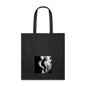 Black_and_White_Abstract_art - Tote Bag
