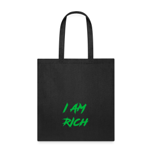 I AM RICH (WASTE YOUR MONEY) - Tote Bag