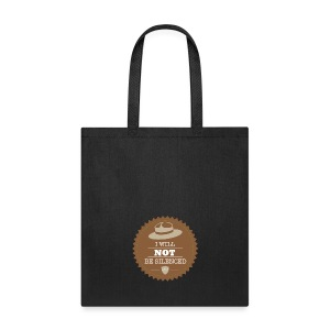 Not be Silenced - Tote Bag