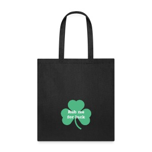Rub me for luck - Tote Bag