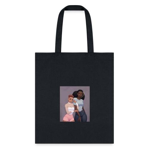 Blaque Luv - Tote Bag