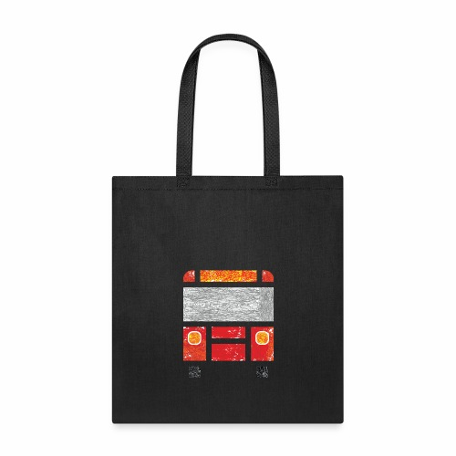 Iconic Red Bus - Tote Bag