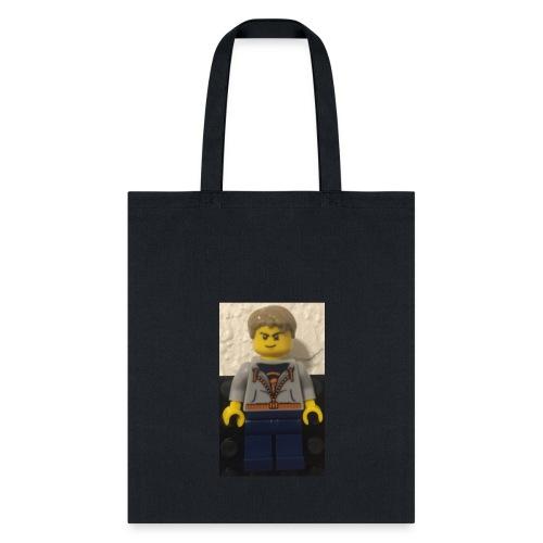 LiL brick minifgure - Tote Bag