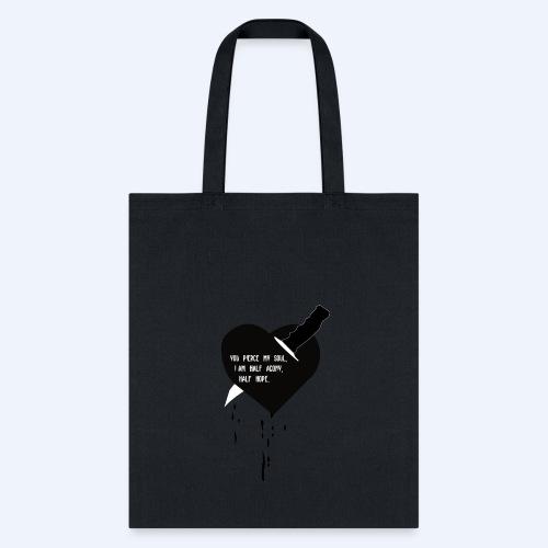 Heart Knife Design - Tote Bag