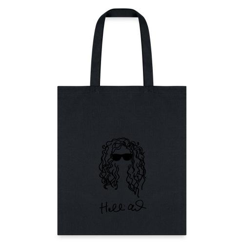 holliealisha Logo (black) - Tote Bag