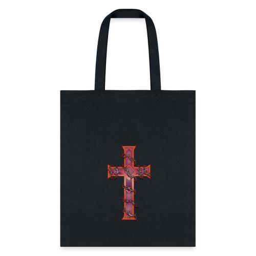 Cross - Thorns - Tote Bag