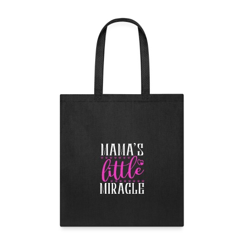 mamas little miracle heart - Tote Bag