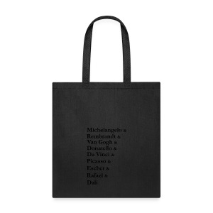 Great Artists - Tote Bag