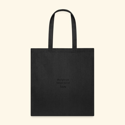 past and future - Tote Bag