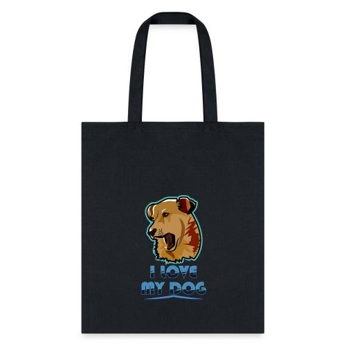 new T-shirt dog - Tote Bag