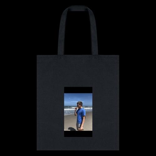 Kade donut on beach - Tote Bag