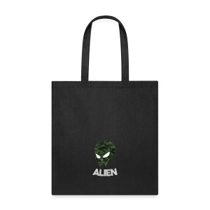 Military Alien - Tote Bag
