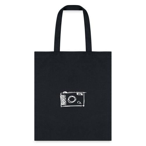 Camera hand-drawn - Tote Bag