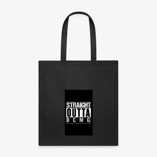 Straight outta BCMG - Tote Bag