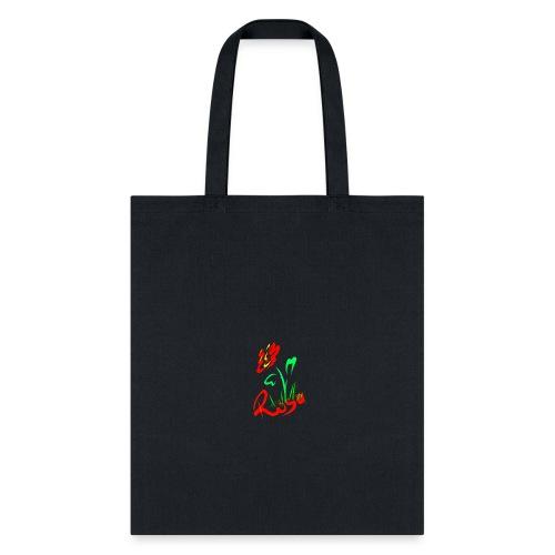 Red rose design - Tote Bag