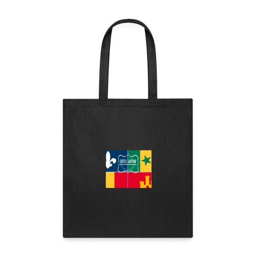 Creole Woman Louisiana Cultural Flag - Tote Bag