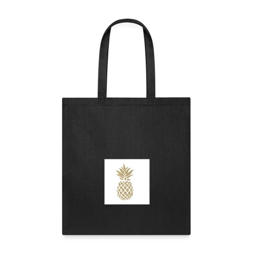 glitter pineapple - Tote Bag
