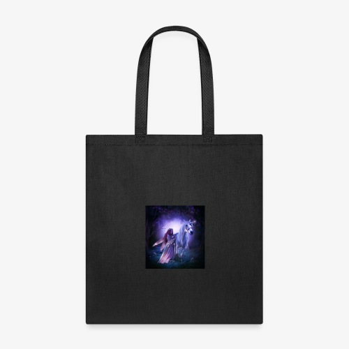 Fairy and her unicorn - Tote Bag