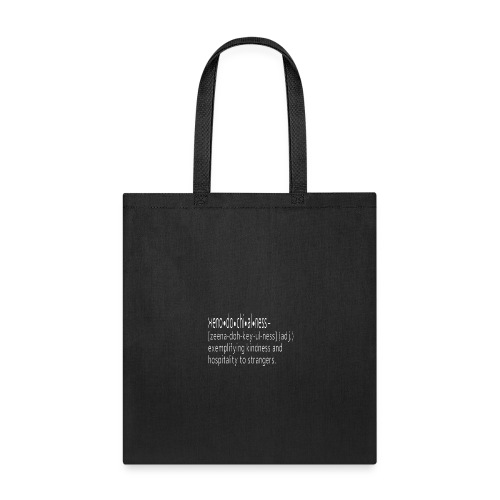 Be Xenodochial - Tote Bag