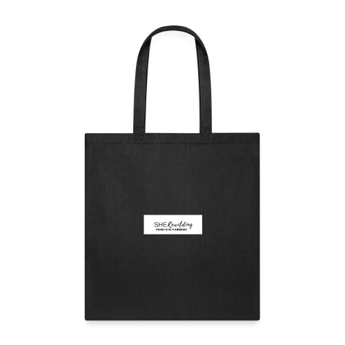 She Rewilding with tagline - Tote Bag