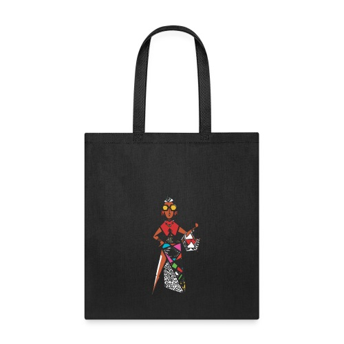 Kwame's Queen Of Spades - Tote Bag