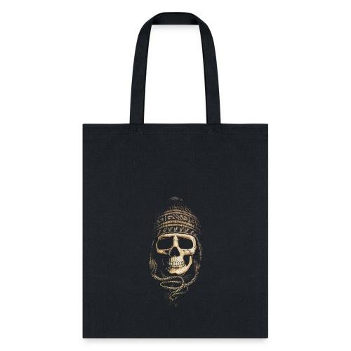 Skull Hat Beanie Peru - Tote Bag