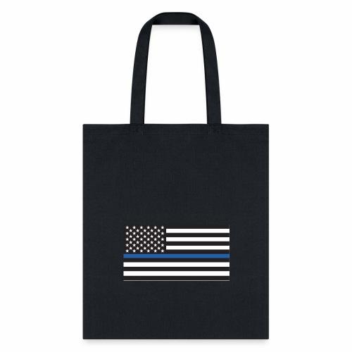 Thin Blue Line - Tote Bag