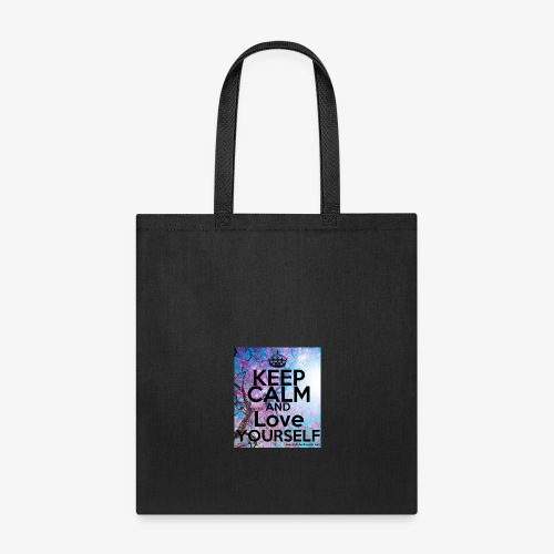 keep calm and love yourself - Tote Bag