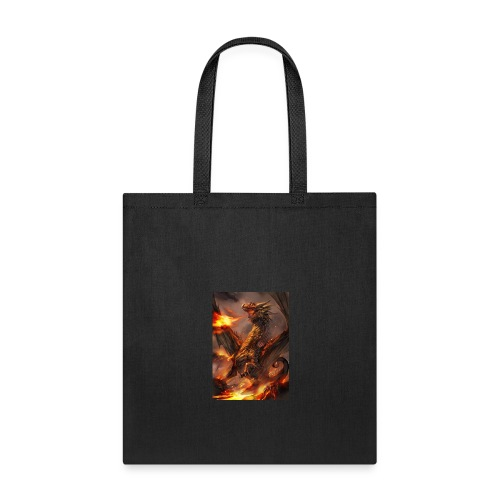 Fire Dragon - Tote Bag