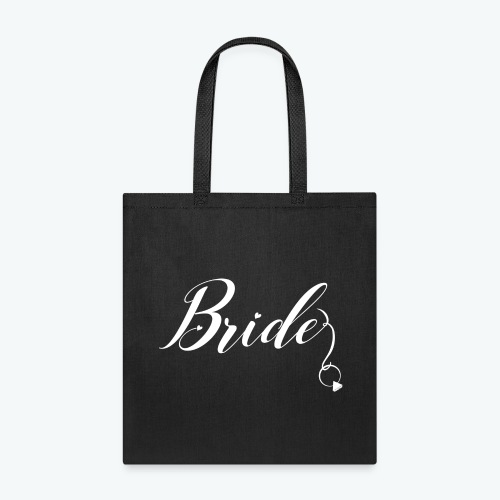 VaRod Designs Bride Tee in white letters - Tote Bag