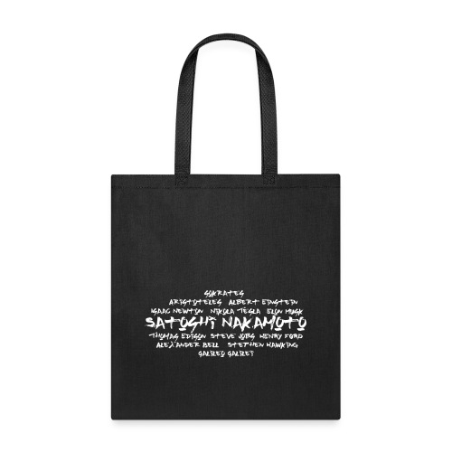Satoshi Nakamoto Bitcoin and other inventors - Tote Bag
