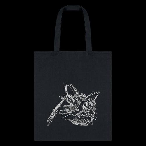 blep (white) - Tote Bag