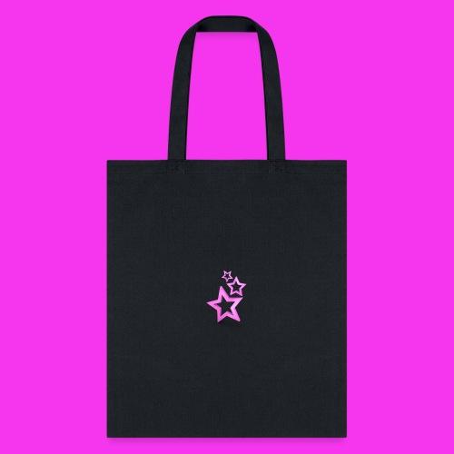 pink star - Tote Bag