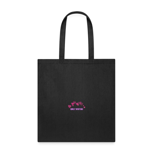 emily whiting snapchat heart filter - Tote Bag