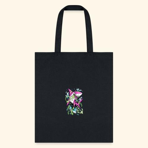 Grime Pop Shark - Tote Bag