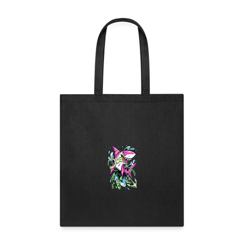 Grime Pop Shark - Tote Bag