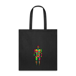Cartoon Robocop in Color - Tote Bag