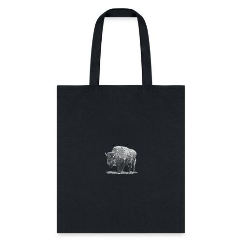 bison image - Tote Bag