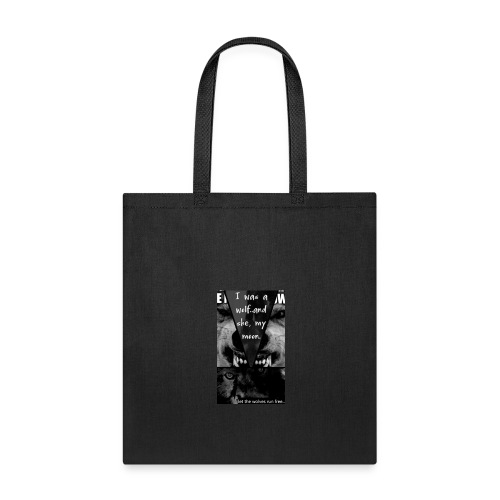 let the wolves run free - Tote Bag