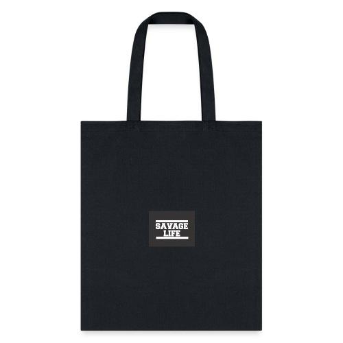 savage logo - Tote Bag