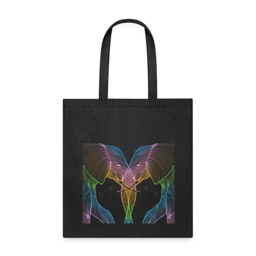 2 Elephants - Tote Bag