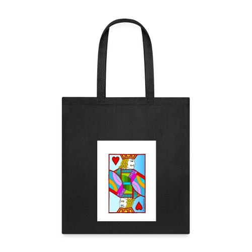 Jack of Hearts by Eliot Raffit - Tote Bag