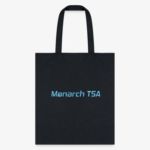 Monarch TSA - Text Logo - Tote Bag
