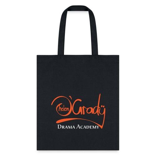 Helen O'Grady Orange Logo on Black - Tote Bag
