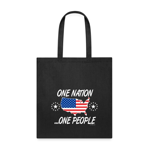 One Nation One People 2012 FRONT TRANSPARENT BACKG - Tote Bag