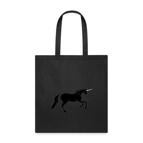 unicorn black - Tote Bag