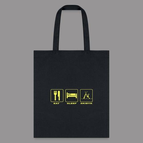 EAT SLEEP SKIBYK - Tote Bag