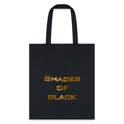 Shades of Black Logo - Tote Bag