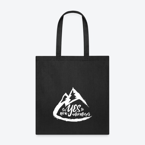 Say Yes to Adventure - Light - Tote Bag