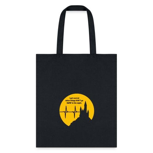Cardiac Monitor Halloween Shirt - Tote Bag